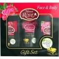 Rose Natural Rose & Bio Argan Комплект  (Шампунь 150 мл + крем день - ніч 50 мл+ Лосьйон для тіла 150 мл)